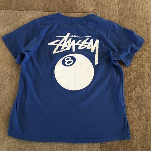 0e3147e0 Stussy Tops   Blue 8 Ball Boyfriend Tshirt Soft Trendy   Poshmark